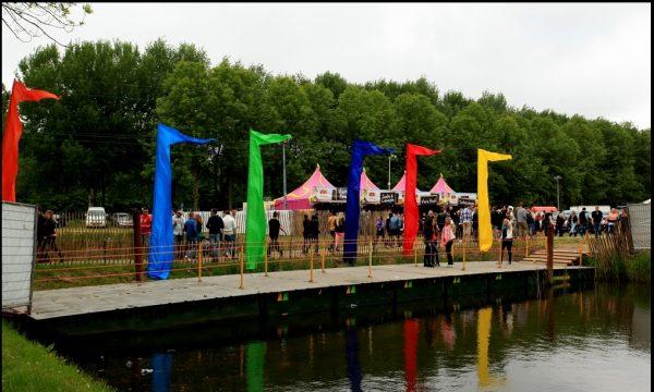 bamboe vlaggenstokken